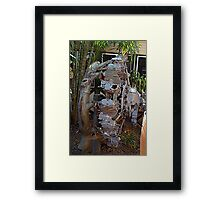 old plane engine at Broome airport Framed Print