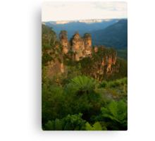 The Sisters with fernery Canvas Print