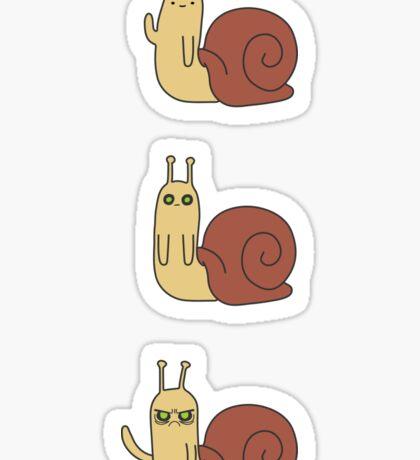 Adventure Time Snail - Small Set Vertical Sticker