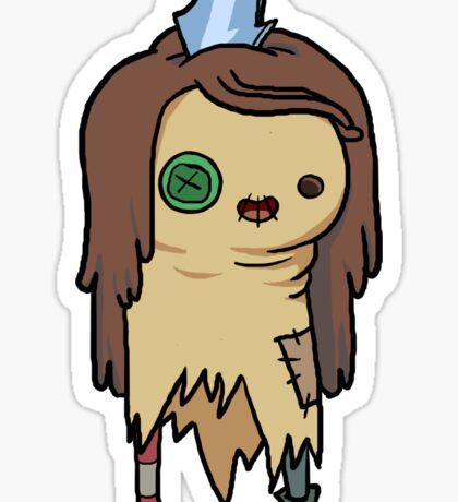 Raggedy Princess Sticker
