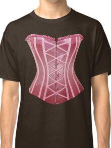 Pink Latex Corset Classic T-Shirt