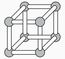 Paradox Box (Optical Illusion Cube) T-shirt Kids Clothes