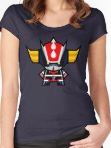 Mekkachibi Grendizer Women's Fitted Scoop T-Shirt