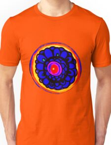 Colorful Floral Pattern Unisex T-Shirt