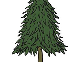 Pine Tree Stickers etc. by Rob Price