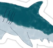 White Shark Sticker