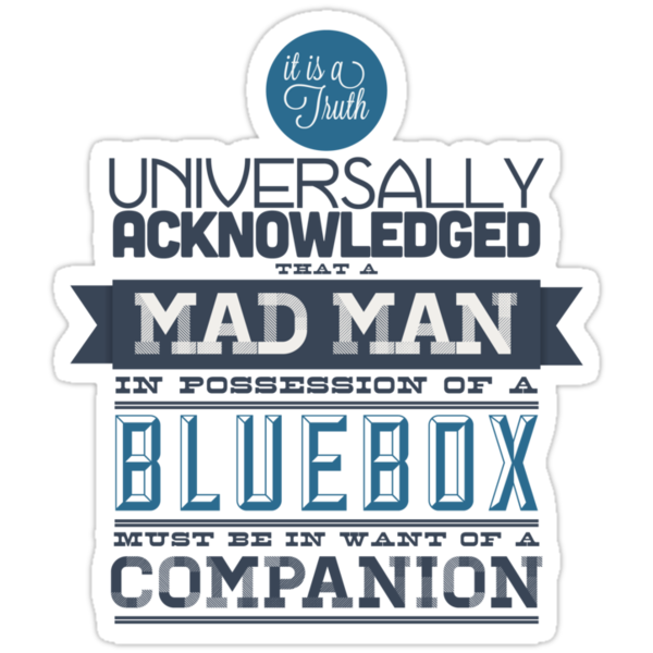 A Mad Man in Possession of a Blue Box by nyuszi