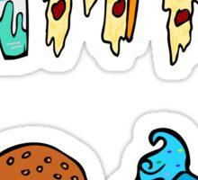 GIMME FOOD #2 Sticker