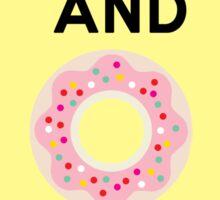 Donuts Sticker