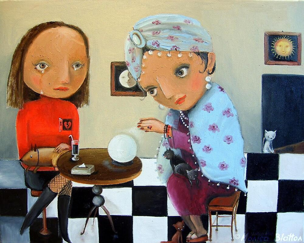 Fortune-Teller by Monica Blatton