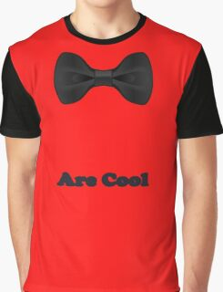 Baby Bow Tie - Jumpsuit - T-Shirt - Are Cool - Clothing Sticker Graphic T-Shirt