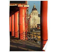 Albert Dock, Liverpool Poster
