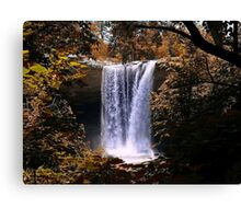 The Falls Of Noccalula Canvas Print