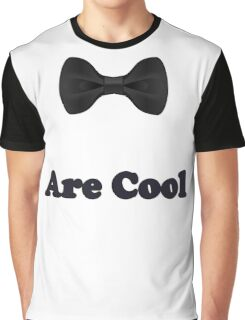 Black Bow Ties Are Cool T-Shirt Clothing Sticker Graphic T-Shirt