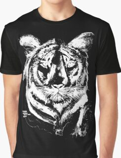 TIGER IN CHALK COLLECTION  Graphic T-Shirt