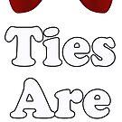 Cool Baby Onesie PJ Jumpsuit - Bow Ties - T-Shirt Greeting Card by deanworld