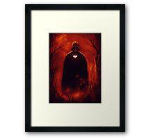 Heart Vader Framed Print