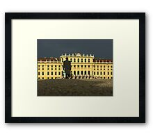 Schloss Schönbrunn, Vienna Framed Print