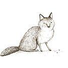 Swift Fox Sketch by Sophie Corrigan