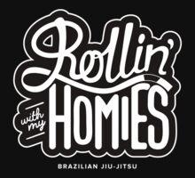 Brazilian jiu-jitsu (BJJ) Rollin' With My Homies by Claire Hayes