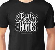 Brazilian jiu-jitsu (BJJ) Rollin' With My Homies Unisex T-Shirt