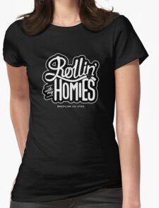 Brazilian jiu-jitsu (BJJ) Rollin' With My Homies Womens Fitted T-Shirt