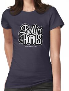 Brazilian jiu-jitsu (BJJ) Rollin' With My Homies Womens Fitted T-Shirt