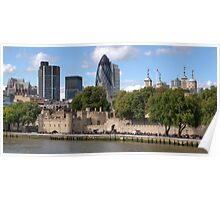 City of London Skyline Poster