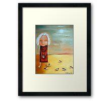 St Francis Framed Print