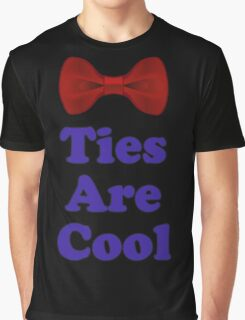 Who Says - Bow Ties Are Cool - Doctor Orders T-Shirt Sticker Graphic T-Shirt