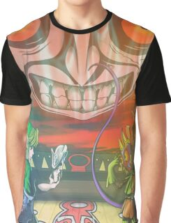 Legend of Zelda Majoras Mask Graphic T-Shirt