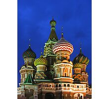 Saint Basil's Cathedral, Moscow Photographic Print
