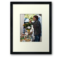 Farmers Market 2 Framed Print