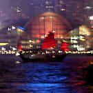Victoria Harbour, Hong Kong by KUJO-Photo