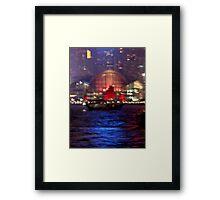 Victoria Harbour, Hong Kong Framed Print