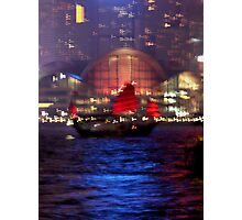 Victoria Harbour, Hong Kong Photographic Print