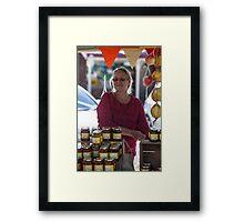 Farmers Market 3 Framed Print