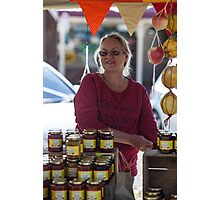Farmers Market 3 Photographic Print