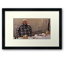 Farmers Market 4 Framed Print