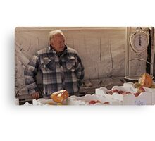 Farmers Market 4 Canvas Print