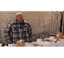 Farmers Market 4 Photographic Print