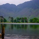 Buttermere And Haystacks At Dawn- Lake District National Park by Lou Wilson