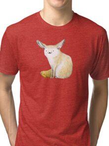 Fennec Fox Tri-blend T-Shirt