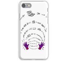 Magneto field iPhone Case/Skin