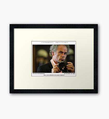 L'ultima opera. Self - portrait. Welcome to my Nirvana – A Place For Me To Express Myself ! Views: 248. thx! Framed Print