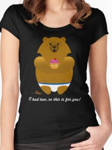 I HAD TWO... Women's Fitted Scoop T-Shirt