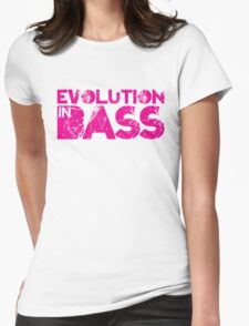 Evolution In Bass Womens Fitted T-Shirt