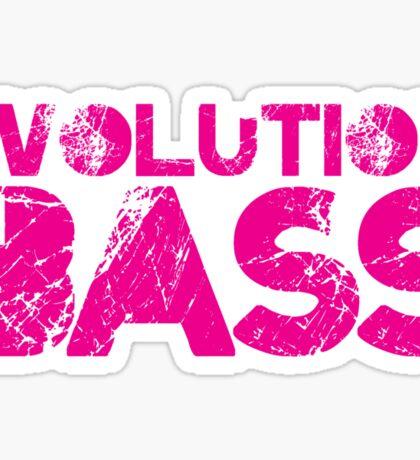 Evolution In Bass Sticker
