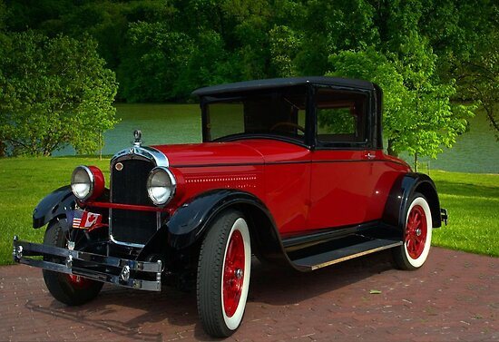 1927 Hupmobile Coupe by TeeMack