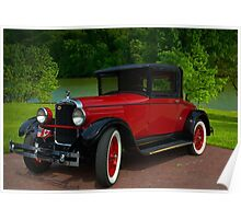 1927 Hupmobile Coupe Poster